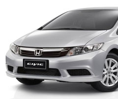 Sewa Mobil All New Civic di Solo