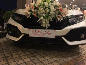 Rental Mobil Pernikahan Civic Hatchback Solo - Santana