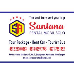 Rental Mobil Solo Santana