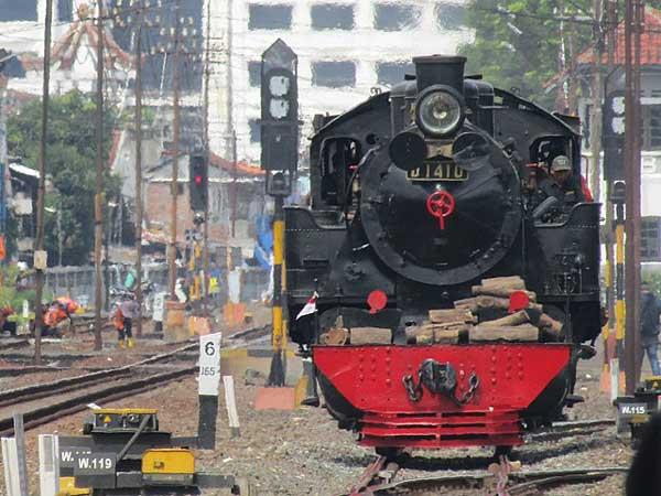 Kereta Api Uap Joko Kendil, Ramaikan Wisata Kota Solo